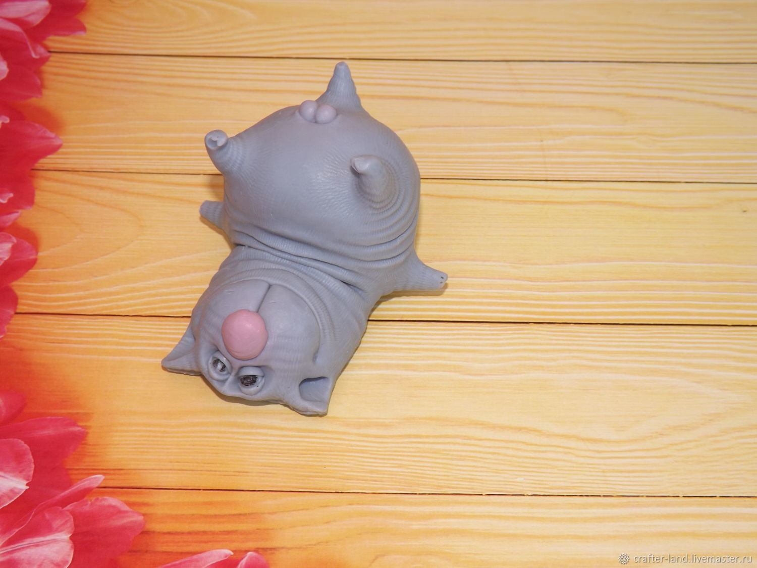 Silicone mold ' March cat '(3D), Form, Moscow,  Фото №1