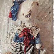 """Куклы и игрушки ручной работы. Ярмарка Мастеров - ручная работа Мишка """"Жером"""" Серия """"Весна в Париже"""". Handmade."""