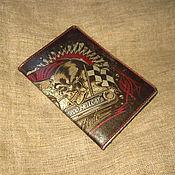 Канцелярские товары handmade. Livemaster - original item Cover for avtodokumentov/passport. Handmade.