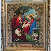 Иконы ручной работы. Ярмарка Мастеров - ручная работа Икона «Благословение детей». Handmade.