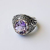 Украшения handmade. Livemaster - original item Ring Ladies Caprice with amethyst. Handmade.