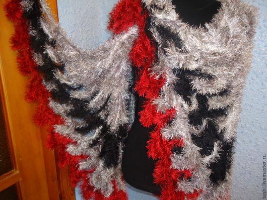 """Шали, палантины ручной работы. Ярмарка Мастеров - ручная работа. Купить Шаль """"Крылья ангела"""". Handmade. Орнамент"""