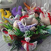 Подарки к праздникам ручной работы. Ярмарка Мастеров - ручная работа Пасхальные игрушки. Гуси, куры, яйца, птички. Handmade.