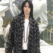 Одежда ручной работы. Ярмарка Мастеров - ручная работа Кардиган вязаный черно-белый Миссони. Handmade.