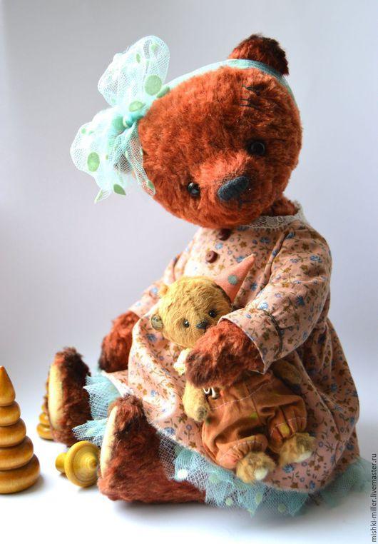 Мишки Тедди ручной работы. Ярмарка Мастеров - ручная работа. Купить Ульянка (27см). Handmade. Мишка тедди, состаренный мишка
