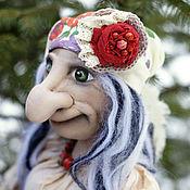 Куклы и игрушки handmade. Livemaster - original item Doll Baba Yaga in the style Boho.. Handmade.
