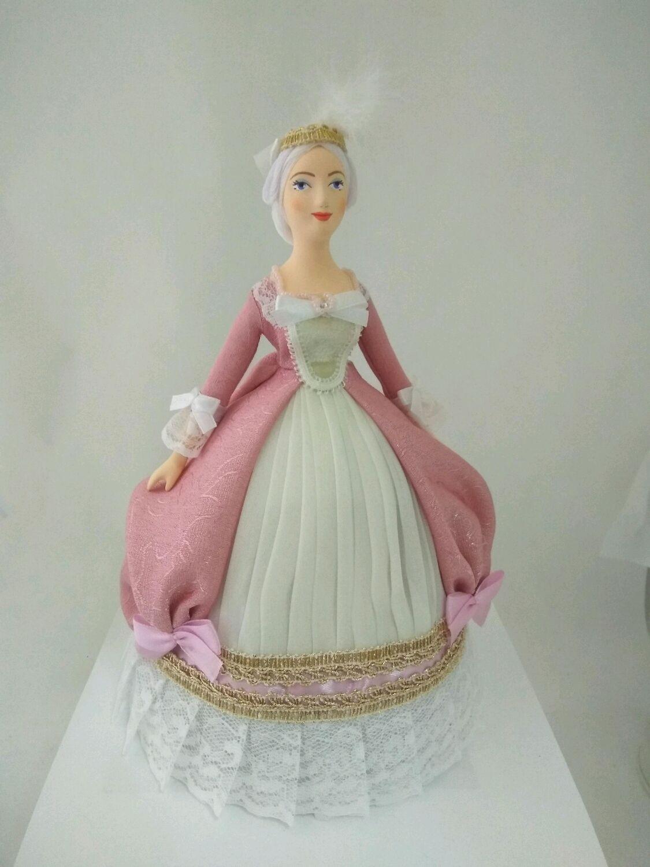 Кукла фарфоровая Фрейлина 18 века, Куклы и пупсы, Санкт-Петербург,  Фото №1