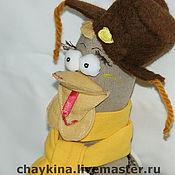 Куклы и игрушки ручной работы. Ярмарка Мастеров - ручная работа Курочка Марфушка. Handmade.