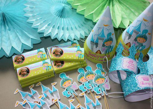 """Праздничная атрибутика ручной работы. Ярмарка Мастеров - ручная работа. Купить Декор дня рождения (Candy bar) """"Маленький принц"""". Handmade."""