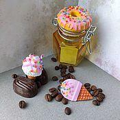 """Банки ручной работы. Ярмарка Мастеров - ручная работа Банка малая """"Пончик"""" с тигельным замком. Handmade."""