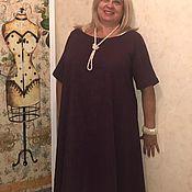Платья ручной работы. Ярмарка Мастеров - ручная работа Платье хлопковое «Кружево и ежевика» в стиле бохо шик. Handmade.