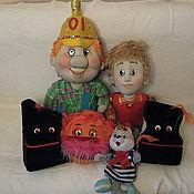 Куклы и игрушки handmade. Livemaster - original item Play the KID AND Carlson. Handmade.