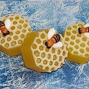 Косметика ручной работы. Ярмарка Мастеров - ручная работа ``Медовая сота`` мыло ручной работы. Handmade.