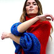 """Одежда ручной работы. Ярмарка Мастеров - ручная работа Платье-свитер оверсайз """"Лика краски Х"""". Handmade."""