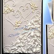 """Свадебный салон ручной работы. Ярмарка Мастеров - ручная работа Папка для свидетельства """"Sweat Hearts"""". Handmade."""