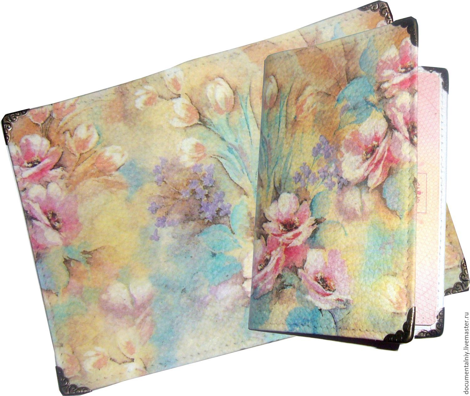Cover (leather) 'ROMANTIC', Cover, Obninsk,  Фото №1