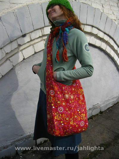 Bags & Accessories handmade. Livemaster - handmade. Buy Bilateral bag 'over the shoulder' ,'Violet'.Bag, crossbody bag