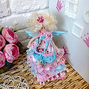 Куклы и игрушки ручной работы. Ярмарка Мастеров - ручная работа Кукла интерьерная Тильда Принцесса на горошине. Handmade.