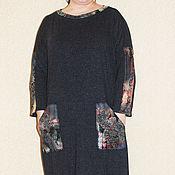 Одежда ручной работы. Ярмарка Мастеров - ручная работа Платье с карманами. Handmade.