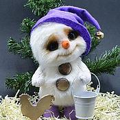 """Куклы и игрушки ручной работы. Ярмарка Мастеров - ручная работа """"Снеговичок :)"""". Handmade."""