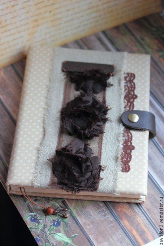 Блокноты ручной работы. Ярмарка Мастеров - ручная работа. Купить Блокнот Шоколадные розы. Handmade. Бежевый, блокнот с нуля