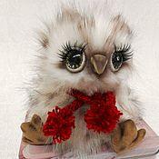 Куклы и игрушки ручной работы. Ярмарка Мастеров - ручная работа Тедди совенок. Handmade.