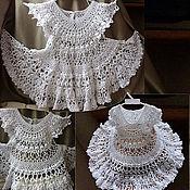 """Работы для детей, ручной работы. Ярмарка Мастеров - ручная работа Ажурное платье """"Снежинка"""". Handmade."""