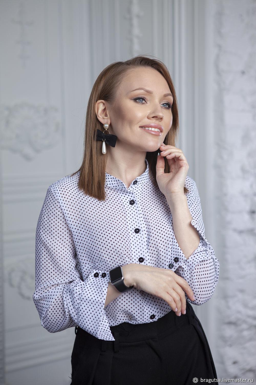 Блузка BLACK&WHITE, Блузки, Москва,  Фото №1