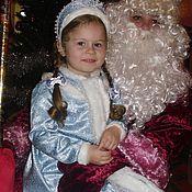 Одежда ручной работы. Ярмарка Мастеров - ручная работа Наряд для маленькой Снегурочки костюм платье девочке Новый Год. Handmade.