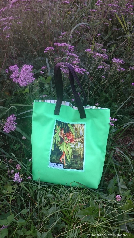 Shopping bag Fairy with willow, Shopper, Mytishchi,  Фото №1