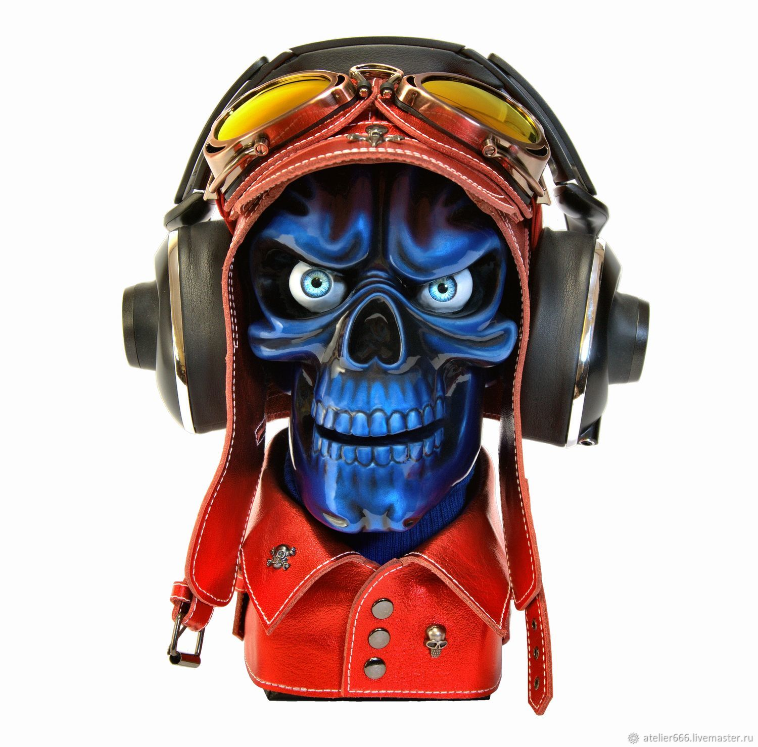 Stand for headphones Skull Version # 7 (project №2), Souvenirs, Moscow,  Фото №1