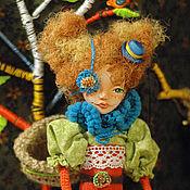 """Куклы и игрушки ручной работы. Ярмарка Мастеров - ручная работа Сундучок """"Укротительница драконов"""". Handmade."""