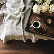 Для дома и интерьера handmade. Livemaster - original item Linen blanket.100% linen. Softened.. Handmade.