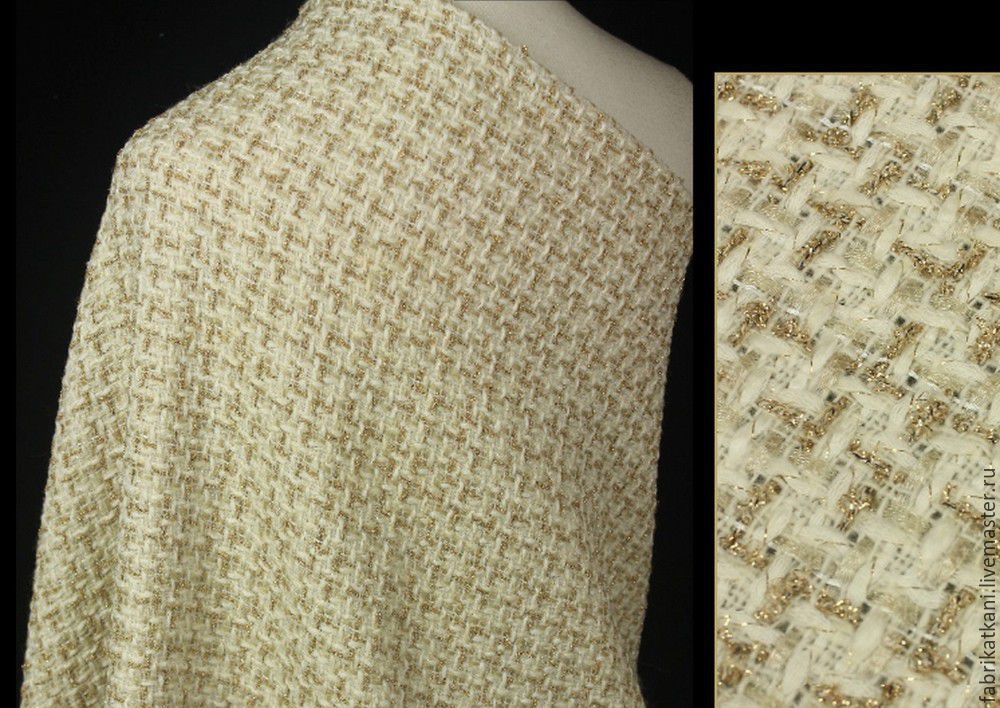Tweed Chanel, Fabric, Guangzhou,  Фото №1