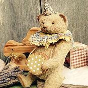 Куклы и игрушки ручной работы. Ярмарка Мастеров - ручная работа мишка тедди Марсель. Handmade.