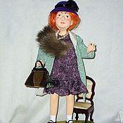 Куклы и пупсы ручной работы. Ярмарка Мастеров - ручная работа МАДАМ ГРИЦАЦУЕВА авторская кукла. Handmade.