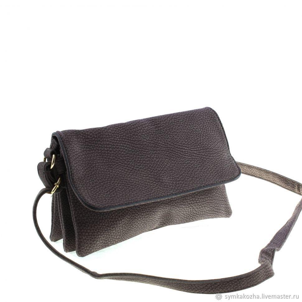 Сумка - клатч женская из экокожи (894). Чёрный, коричневый, серый ... fa81e41057c