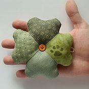 Для дома и интерьера handmade. Livemaster - original item Clover - a symbol of luck. Small amulet. Handmade.