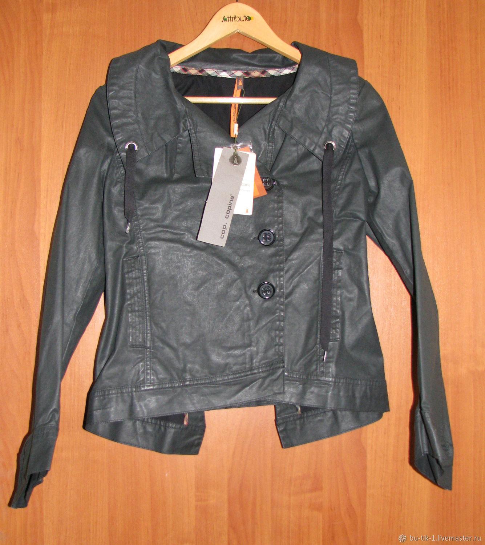 Black jacket windbreaker Cop Copine, Vintage clothing, Moscow,  Фото №1