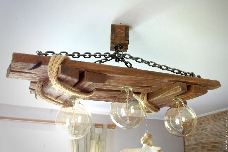 Светильники из дерева сделанные