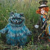 Мягкие игрушки ручной работы. Ярмарка Мастеров - ручная работа Чеширский кот. Handmade.