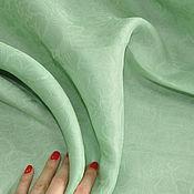 """Ткани ручной работы. Ярмарка Мастеров - ручная работа Шелк жаккард """"Armani"""", оригинал Италия. Handmade."""