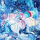 Абстракция ручной работы. Преобразования. Ekaterina Borovik (borovik-art). Интернет-магазин Ярмарка Мастеров. Картина маслом в подарок