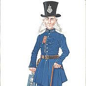"""Картины и панно handmade. Livemaster - original item Art """"Inspector of the police steam"""". Handmade."""