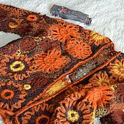 Одежда ручной работы. Ярмарка Мастеров - ручная работа Кардиган «Трепет». Handmade.