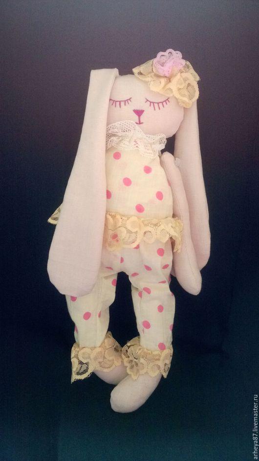 Куклы Тильды ручной работы. Ярмарка Мастеров - ручная работа. Купить Сонечка. Handmade. Бежевый, соня, игрука, мягкая игрука