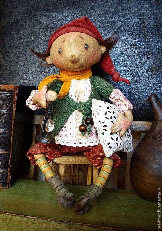 Коллекционные куклы ручной работы. Ярмарка Мастеров - ручная работа. Купить Спокойной ночи!. Handmade. Спокойной ночи, интерьерная кукла