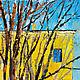 Анна Крюкова (impression-живопись) Картина весенний пейзаж Яркая картина маслом Большая картина маслом на холсте