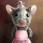 Мышь Медуница (mouse-medunitsa) - Ярмарка Мастеров - ручная работа, handmade