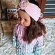 """Одежда для девочек, ручной работы. Кардиган-пальто """"LILU"""". ЮЛИЯ ВЯЗАНКА (Yuliya Vyazanka). Ярмарка Мастеров. Кардиган вязаный"""